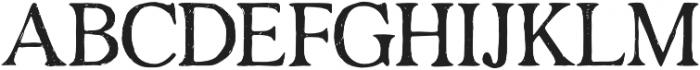 Degalasi Serif Marker otf (400) Font UPPERCASE