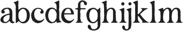 Degalasi Serif Marker otf (400) Font LOWERCASE
