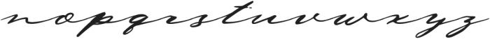 DejaVu Clean otf (400) Font LOWERCASE