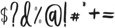 Delaney Font  Trio Regular otf (400) Font OTHER CHARS