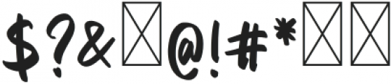 Delaney Nicholas Regular otf (400) Font OTHER CHARS