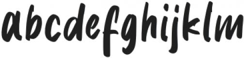 Delaney Nicholas Regular otf (400) Font LOWERCASE