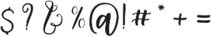 Delaney otf (400) Font OTHER CHARS