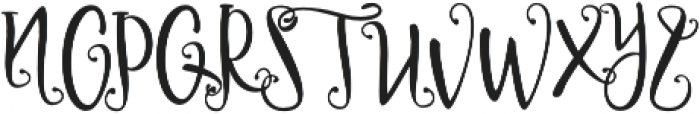 Delaney otf (400) Font UPPERCASE