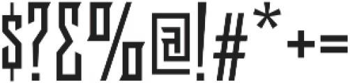Delaroca Regular otf (400) Font OTHER CHARS