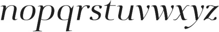 Deleplace Italic otf (400) Font LOWERCASE