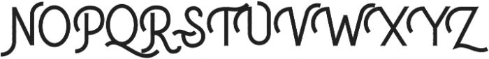 Delfina Aged otf (400) Font UPPERCASE