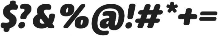 Delfino Black Italic otf (900) Font OTHER CHARS