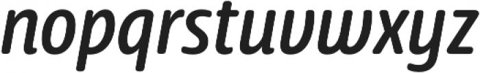 Delfino Normal Italic otf (400) Font LOWERCASE