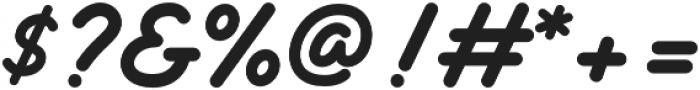 Delichia Script otf (400) Font OTHER CHARS
