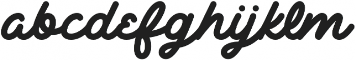 Delichia Script otf (400) Font LOWERCASE