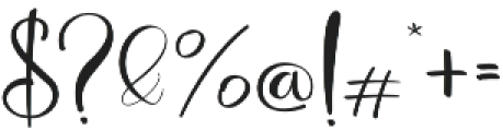 Deliciously ss3 otf (400) Font OTHER CHARS