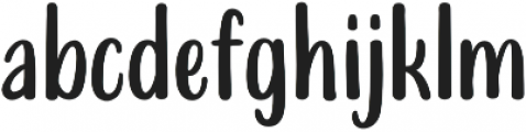 Delicy Sans otf (400) Font LOWERCASE