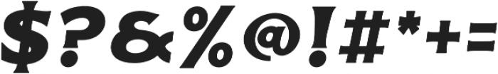 Delighter Script Serif Bold Oblique Tracked otf (300) Font OTHER CHARS
