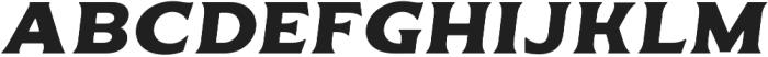 Delighter Script Serif Bold Oblique Tracked otf (300) Font UPPERCASE