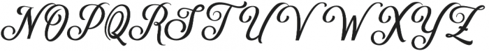 Delighter Script otf (300) Font UPPERCASE