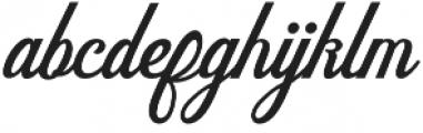 Delighter Script otf (300) Font LOWERCASE