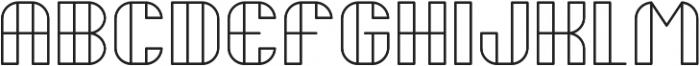 Delightful ttf (300) Font UPPERCASE