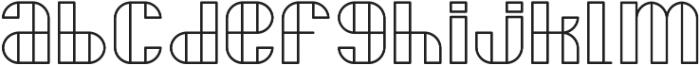 Delightful ttf (300) Font LOWERCASE