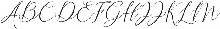 Delima otf (400) Font UPPERCASE