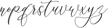 Delima otf (400) Font LOWERCASE