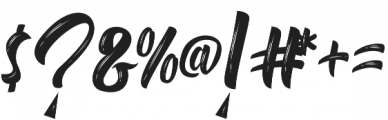 Delimax Regular otf (400) Font OTHER CHARS