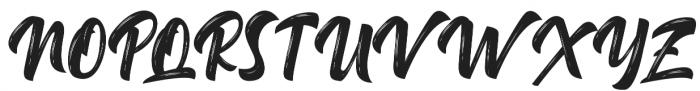 Delimax Regular otf (400) Font UPPERCASE