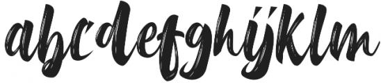 Delimax Regular otf (400) Font LOWERCASE