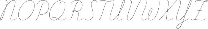 Delirio otf (400) Font UPPERCASE
