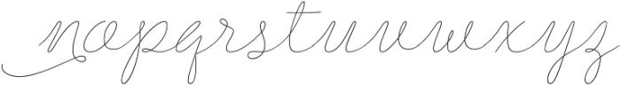 Delirio otf (400) Font LOWERCASE
