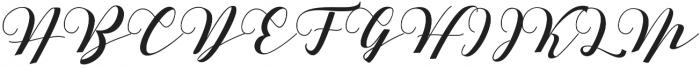 Delissa otf (400) Font UPPERCASE