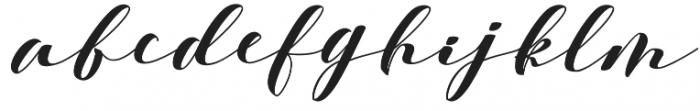 Delissa otf (400) Font LOWERCASE