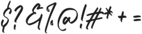Dellamonde otf (400) Font OTHER CHARS