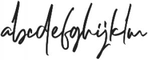Dellamonde otf (400) Font LOWERCASE