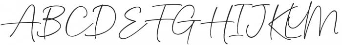 Delliatin Trending Signatures Regular otf (400) Font UPPERCASE