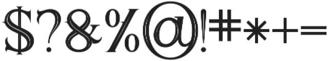 Demonius otf (400) Font OTHER CHARS