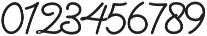 Denaro Script Bold otf (700) Font OTHER CHARS