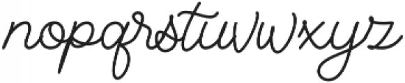 Denaro Script Bold otf (700) Font LOWERCASE