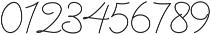 Denaro Script Thin ttf (100) Font OTHER CHARS