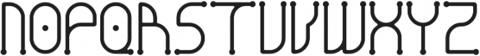 Dendricula otf (700) Font UPPERCASE