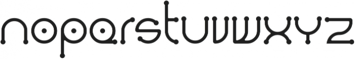 Dendricula otf (700) Font LOWERCASE