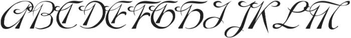 Denise ttf (400) Font UPPERCASE