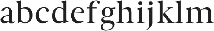 Denish otf (400) Font LOWERCASE