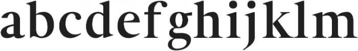 Denish otf (700) Font LOWERCASE