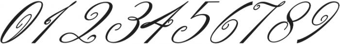 Denita Script otf (400) Font OTHER CHARS