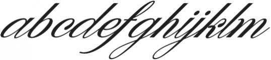 Denita Script otf (400) Font LOWERCASE