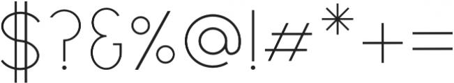 Denver otf (400) Font OTHER CHARS