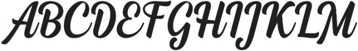 Dephiana otf (400) Font UPPERCASE
