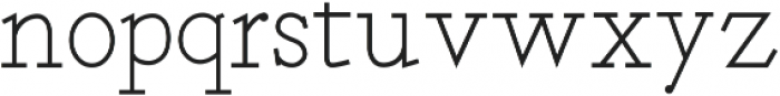 Deputy Serif ttf (400) Font LOWERCASE