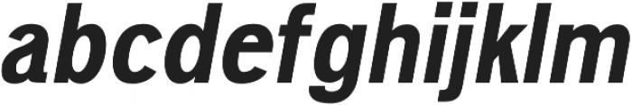 Deron Black Italic otf (900) Font LOWERCASE